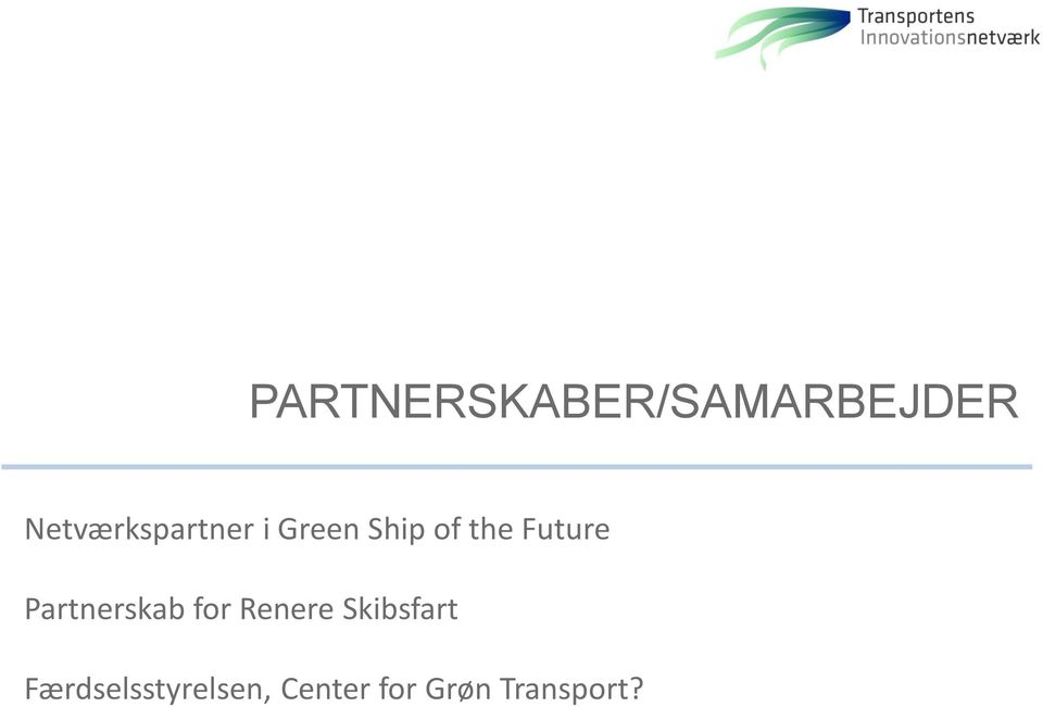 Future Partnerskab for Renere