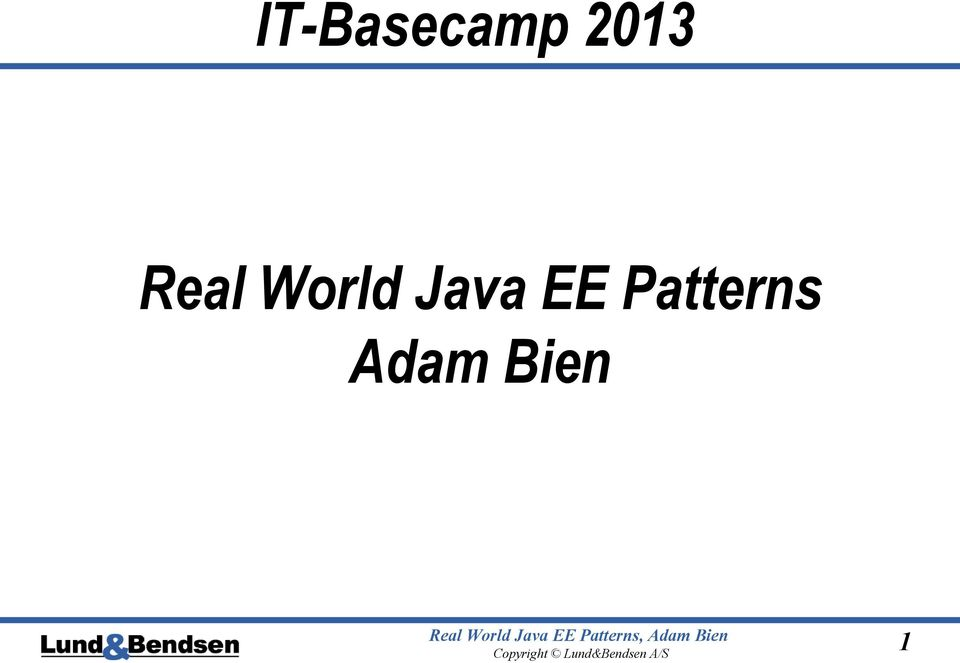 World Java EE