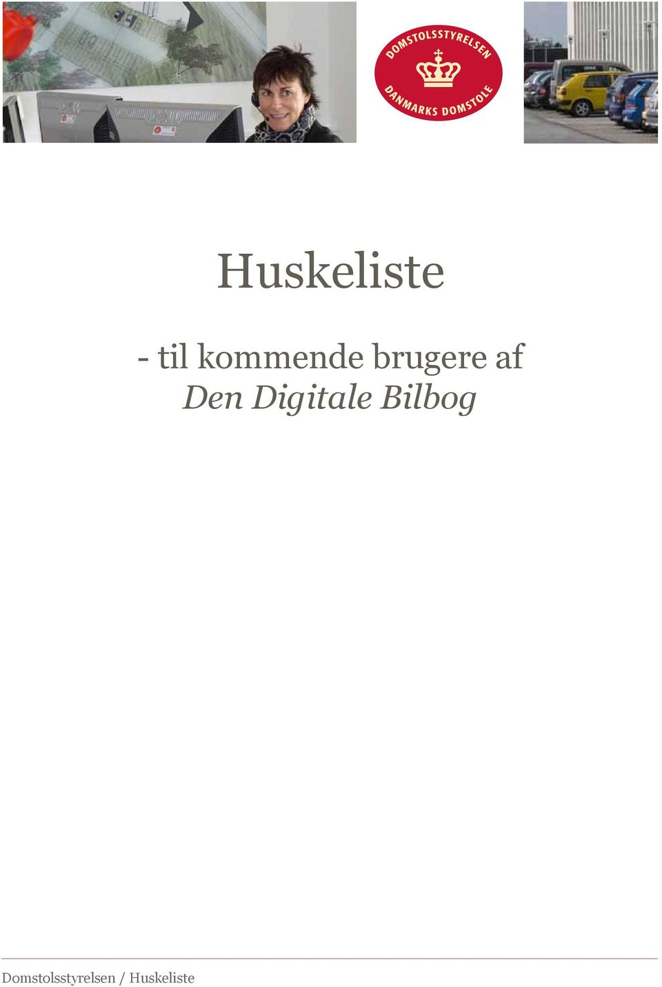 websitets sider. Huskeliste Designguide for Domstol.