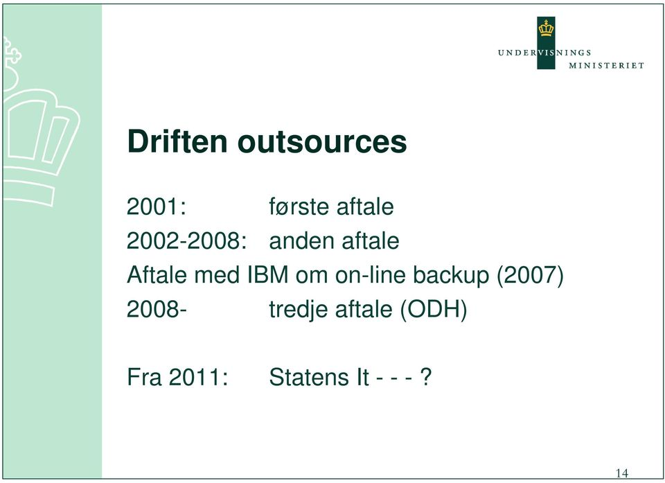 om on-line backup (2007) 2008- tredje