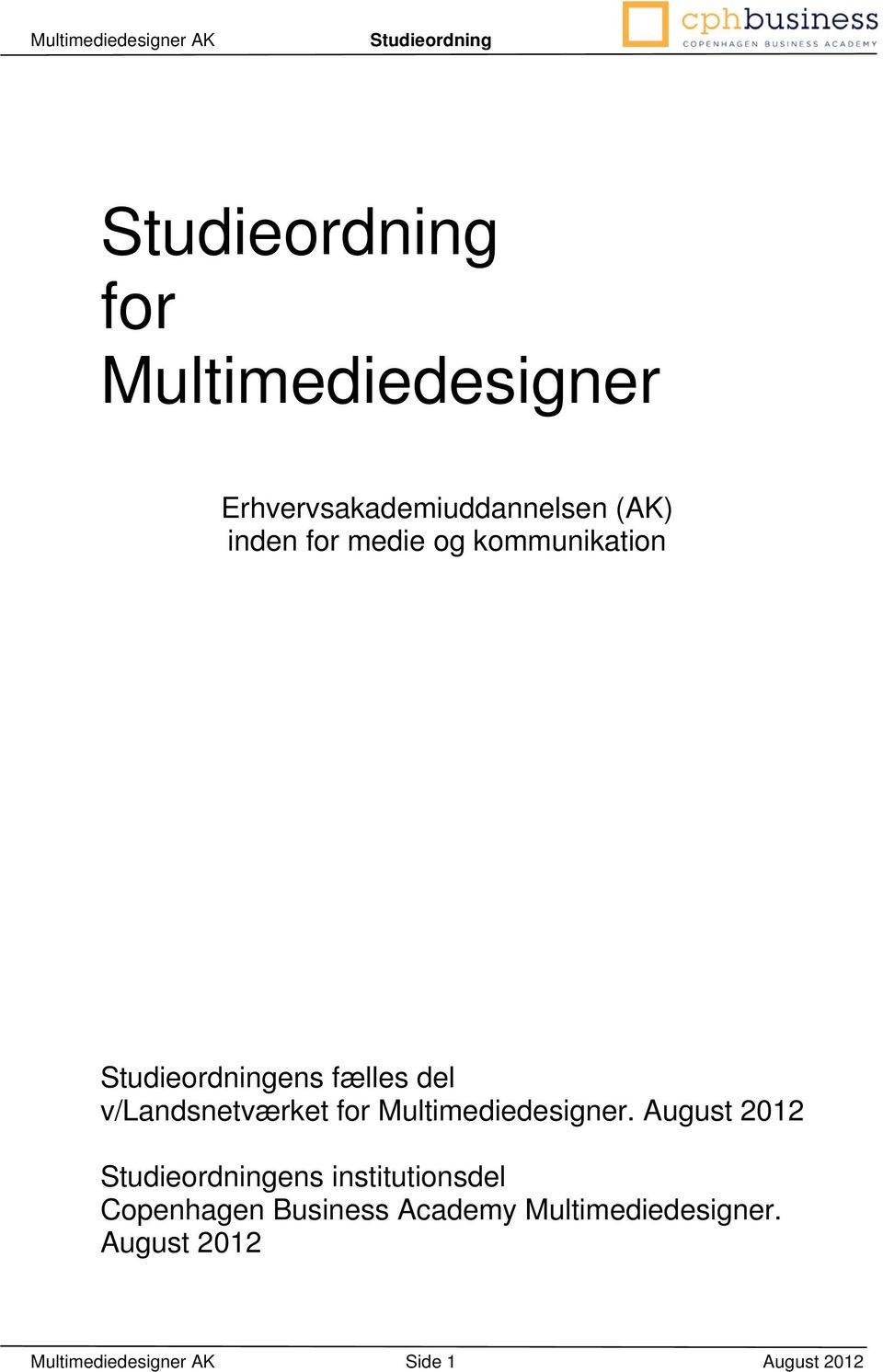 Multimediedesigner.