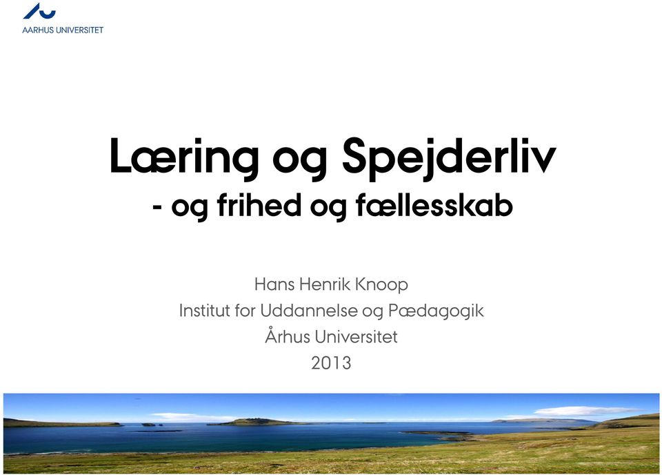 Henrik Knoop Institut for