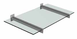 Glas baldakin Cover Baldakin model Cover mini 2 Cover Vare nr. Model Glas MAX Pakning 040010 165VA 1500x900 mm.
