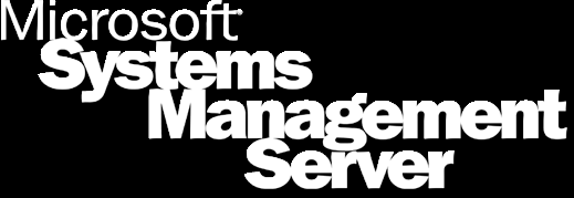 Microsoft Management Revolution Client Mgr Project Server Mgr Project SDM CLIENTS SERVERS