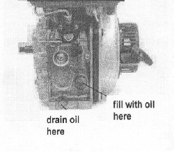3. Use of the engine RUNNING-IN PERIOD The first 20 hours is the running-in period for the engine. Therefore always follow the correct guidelines for use of the engine. 5.