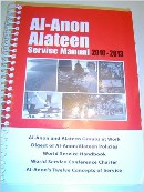 Produktkode: B-17 Al-Anon Alateen Service Manual 2010-2013 It gives a clear and concise picture of the fellowship, its purpose and functions and how it helps us to resolve group problems and