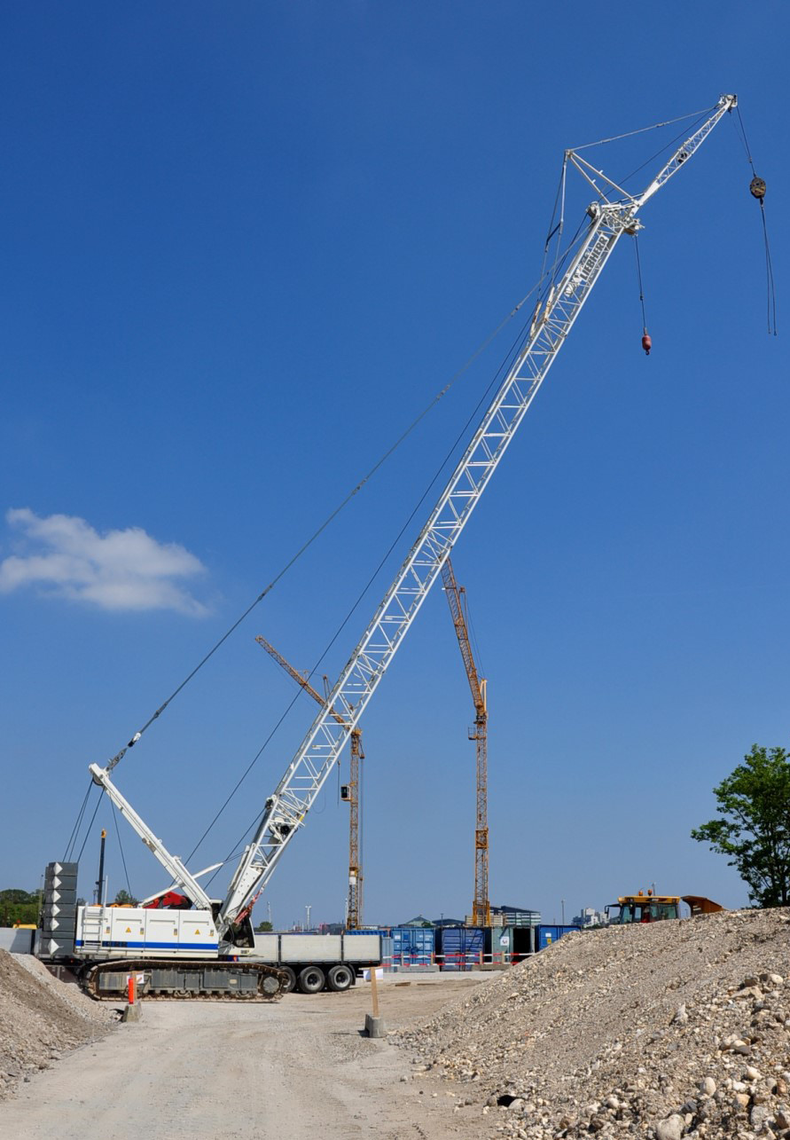 Kran 9,15 & 17 - Liebherr 1100 LR Specifications Maximum rated load at 4.