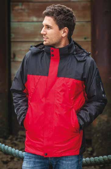 134 JAKKE R OP TIL 5XL W AT E R P R O O F 5,000MM 4552 4553 STORMTECH VPX-4 FUSION 5-IN-1 SYSTEM JACKET / MEN -