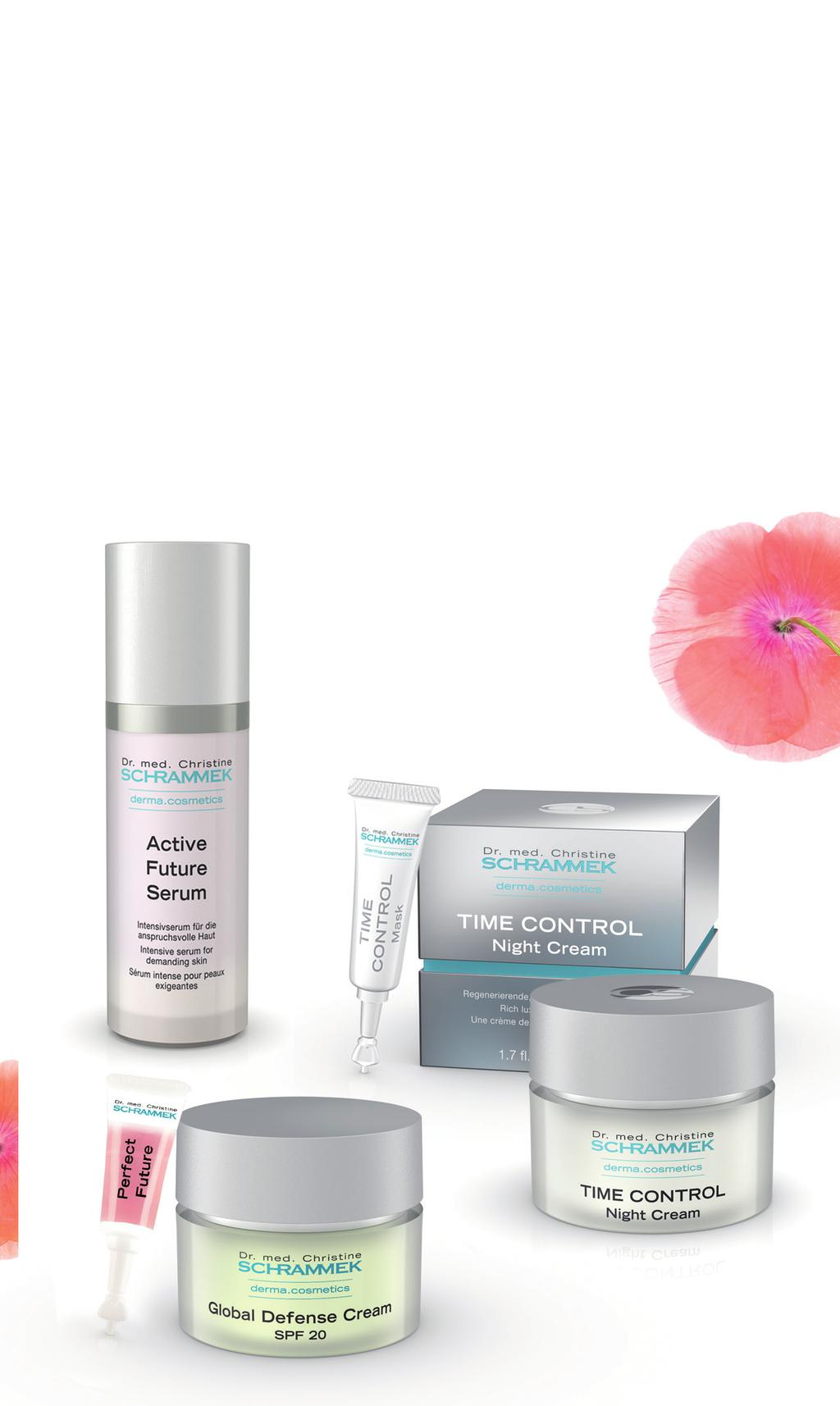 VITALITY serien består af følgende produkter: Ansigtspleje: ACTIVE FUTURE DAY CREAM ACTIVE FUTURE NIGHT CREAM GLOBAL DEFENSE CREAM TIME CONTROL DAY CREAM TIME CONTROL NIGHT