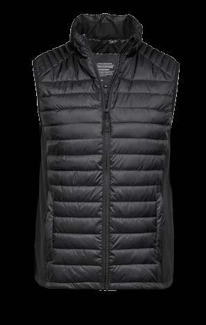CROSSOVER JACKET Style 9626/9627 New style CROSSOVER BODYWARMER 2- tone jakke i et faconsyet snit.