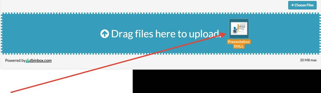 aomoox Send files to Doll livinglab 1gnup LOgm WHEN YOU UPLOAD AGENDA OR INVITATION YOU SEE THIS WINDOW STEP 1: DRAG YOUR ITEM TO THE BLUE AREA Info Terms Privacy Security About Social Media f