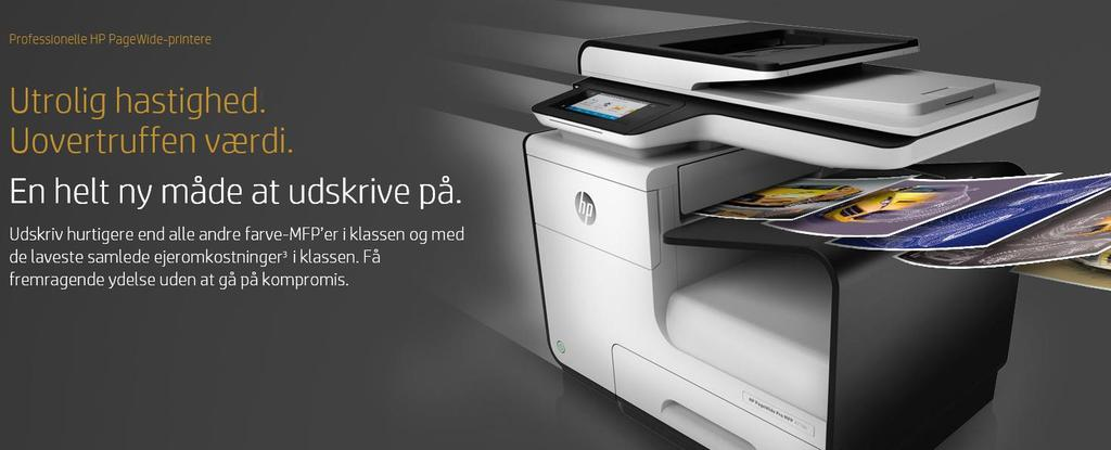 095,00 kr. HP PageWide Pro Enterprise Color MFP 586dn 12.195,00 kr.