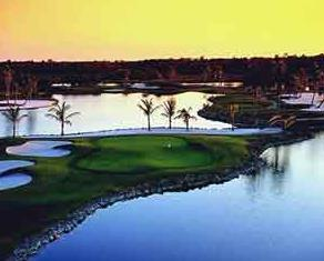 9/15 LELY GOLF RESORT - MUSTANG NAPLES, FL The newer of the two courses at Lely Resort, Lee Trevino's Mustang is over 7200 yards from the back tees and is punctuated by two lakes, undulating