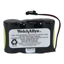 72270 1 Stk 340,00 WELCH ALLYN BATTERI Batteri, t/lumiview og