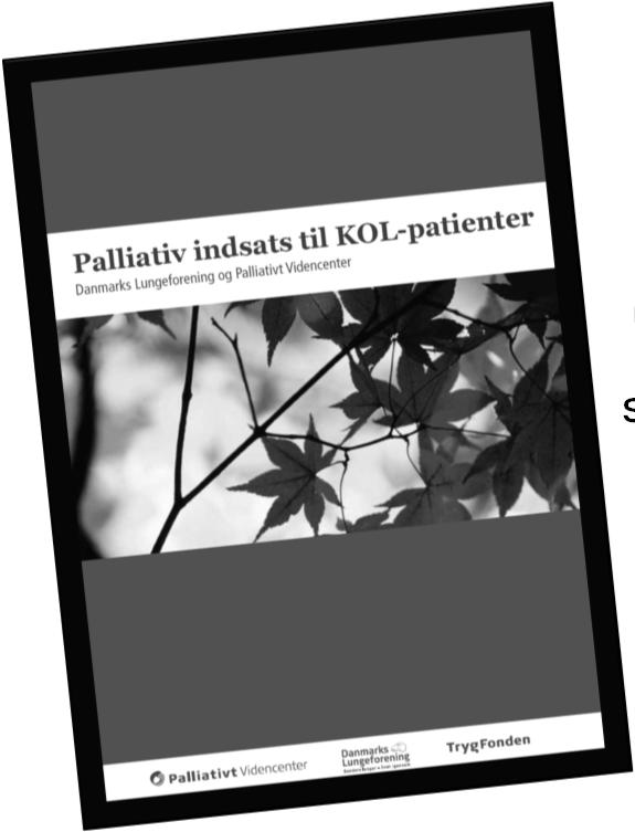 Ph.d. afhandling Improvingthe palliative careof peoplewith chronic obstructive pulmonary disease in home care: A participatory action research project Kan lånes på biblioteket 56 En deskriptiv