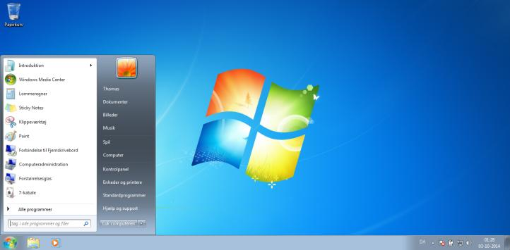 Dual boot af Windows 7 og