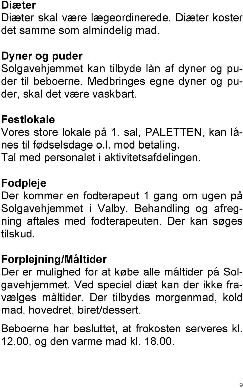 fodterapeut valby