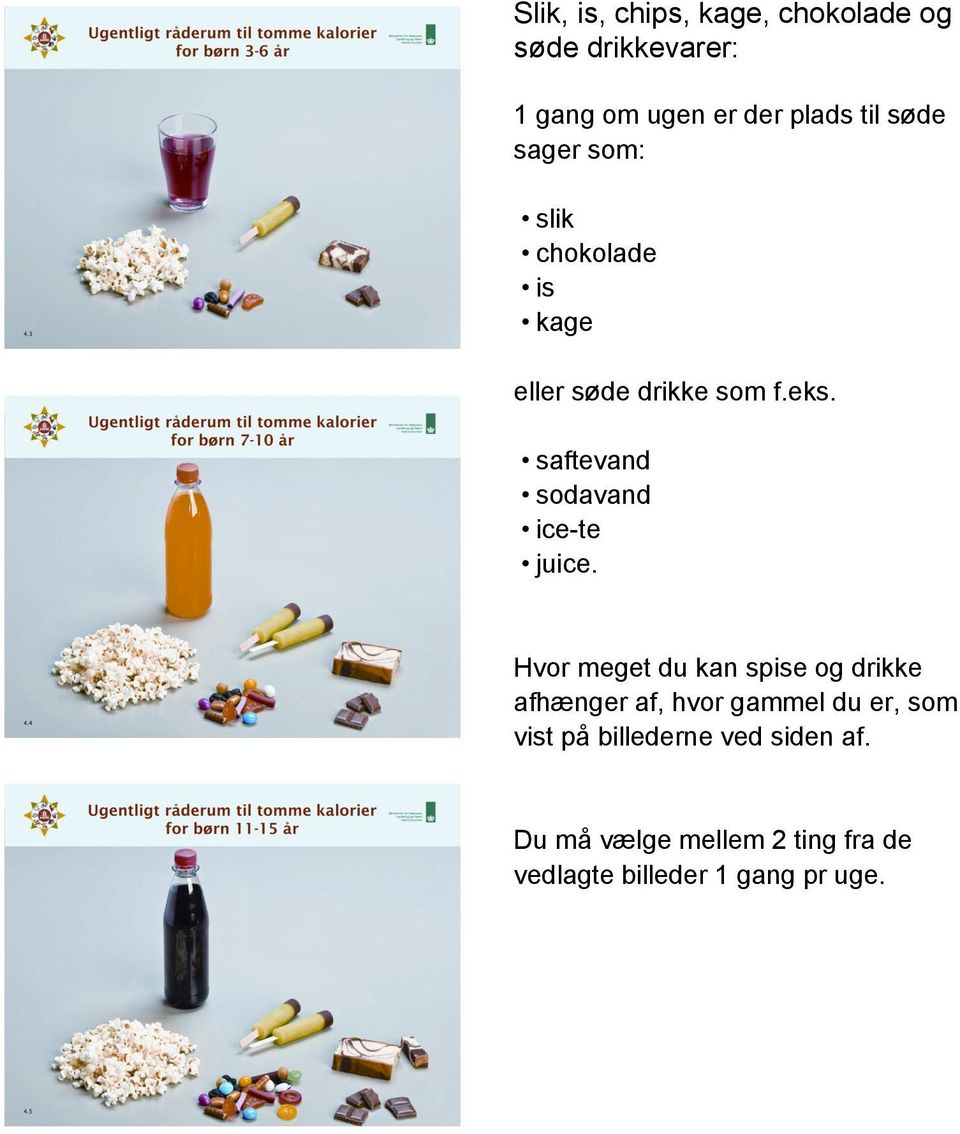 saftevand sodavand ice-te juice.