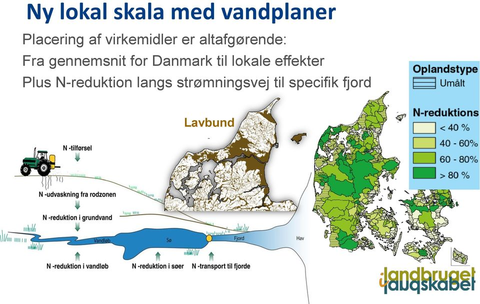 for Danmark til lokale effekter Plus