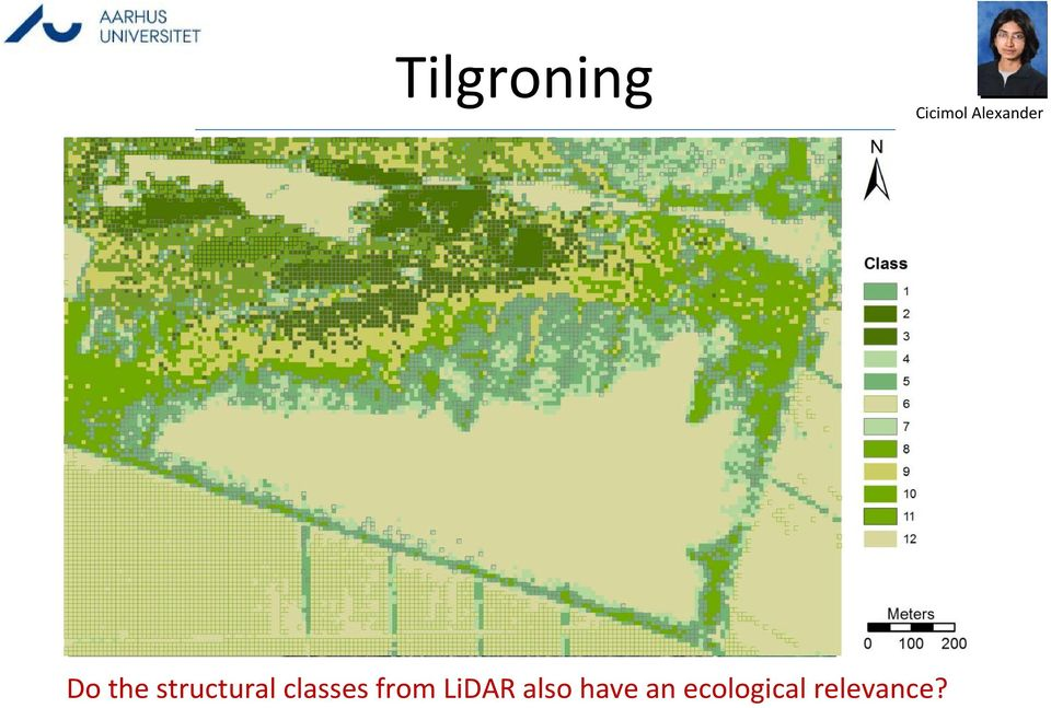 LiDAR also have an ecological relevance?